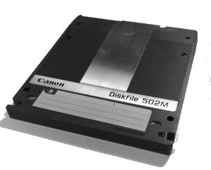 Magneto Optical Disk 502 Canon Canofile