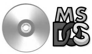 ms dos cd