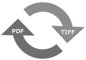 Convert Magneto Optical Disk Tiff Files To PDF Files