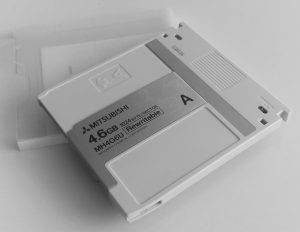 Mitsubishi 4.6 GB Optical Disk